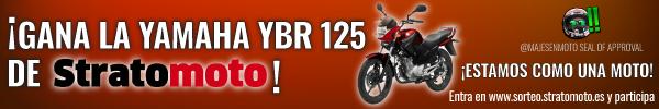 Entra en http://sorteo.stratomoto.es y gana gratis la YBR 125 CC de Majes!